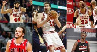 ¿Cuál debe ser la pareja interior titular de los Chicago Bulls?