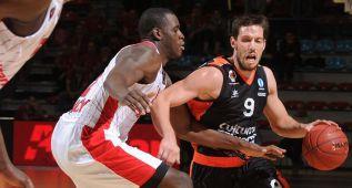 Un triple de Van Rossom salva al Valencia Basket en Nancy