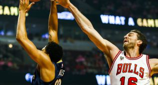 Pau y Mirotic sucumben ante un futuro MVP: Anthony Davis