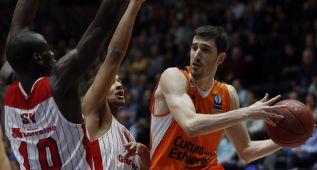 El Valencia se clasifica para la segunda fase de la Eurocopa