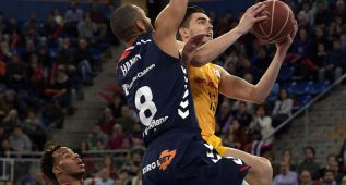 El Barça pierde en la prórroga su primer partido en la Liga ACB