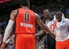 Westbrook e Ibaka rompen la racha de los Mavericks