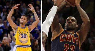 Los mejores son los mejores de la semana: Curry y LeBron