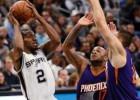 Kawhi Leonard y la defensa de los Spurs anulan a Phoenix Suns