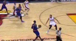 ¿Cuántos pasos da Carmelo Anthony antes de lanzar?