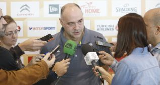 """Pablo Laso: """"Necesitamos sacar victorias y hacerlo pronto"""""""