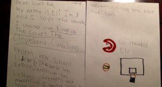 Una niña de 8 años, al rescate de los Hawks: su scouting a LeBron