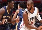 Los Clippers ganan y dejan tocado a Anthony Davis