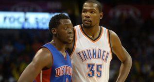 Westbrook y Durant ningunean a Reggie Jackson: ¿Quién?