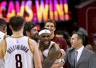 LeBron James (26): gancho ganador en el último segundo