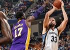 Los Lakers de Kobe (19 puntos), un bálsamo para los Grizzlies