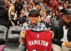 Lewis Hamilton, el amuleto de Whiteside y los Miami Heat