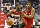 Un gran DeRozan (35) y Lowry castigan a los Wizards