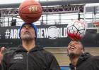 Drogba disfruta con la NBA gracias a Marriott Rewards