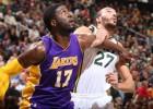 Rudy Gobert (18+18) lidera la paliza de los Jazz a los Lakers