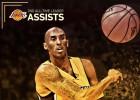 Kobe, segundo 'Laker' con más asistencias de la historia