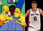 ¡Porzingis cambia hasta los chistes de Los Simpsons!
