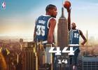 Durant (44+14) salva a OKC en 'La Meca del Baloncesto'