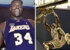 Shaquille tendrá estatua en el Staples; Kobe: