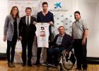 La Caixa y Rudy presentan un equipo para discapacitados