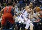 Westbrook alcanza a Jordan con su 7º 'triple-doble'