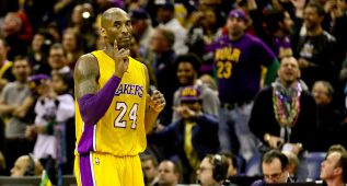"El ""perplejo"" Kobe (27+12) le dice ""no"" a Anthony Davis (39+11)"