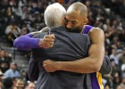 Kobe asusta a San Antonio en su partido de despedida