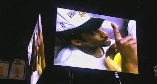 Pelos de punta: homenaje de los Spurs a Kobe Bryant