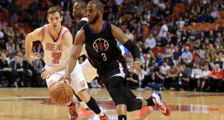 Chris Paul lidera a los Clippers en Miami: 17-4 sin Blake Griffin