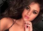 Selena Gomez, la aficionada más bella de los San Antonio Spurs