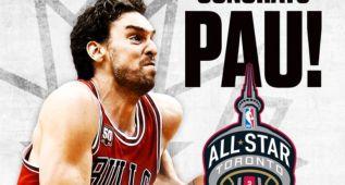 Pau Gasol estará en el All Star NBA 2016 de Toronto