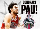 Pau Gasol estará en el All Star NBA 2016 de Toronto