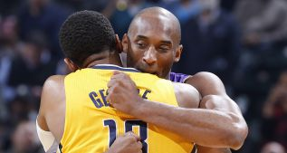 """Está mayor"": Paul George (21) pudo con Kobe Bryant (19)"