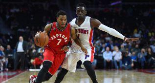 Lowry (25) lidera a los Raptors: 14 victorias en 15 partidos