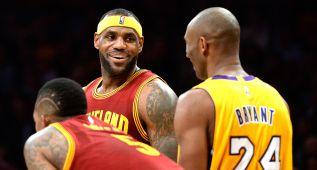 LeBron vs. Kobe, un duelo entre estrellas que toca a su fin