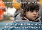 El Fuenlabrada y ACNUR, juntos a favor de los refugiados