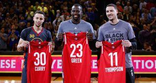 35 de Curry, 10 seguidas y 47-4: mejor marca de la historia