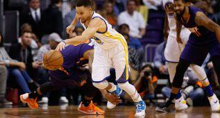 Los Warriors de Curry (26+9+9) destrozan otro récord histórico
