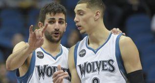 Remontada de los Wolves con partidazo de Ricky (19+8+8)