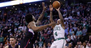 Los Celtics baten a los Clippers; gran duelo Thomas-Paul