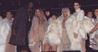 Lamar Odom reaparece junto a las Kardashian y Kanye West