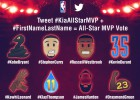 Emoticonos especiales: así puedes votar al MVP del All Star