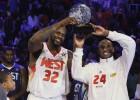 Shaquille dice que Kobe irá a por el MVP... y Kobe lo niega