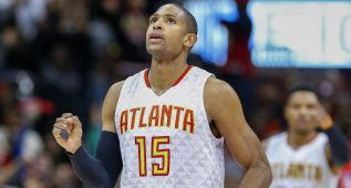 Chris Bosh, baja de última hora en el All Star; Horford, su sustituto