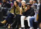 Olivia Wilde puso el glamour en la primera jornada del All Star Weekend 2016