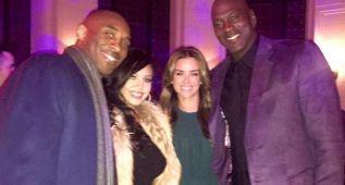 Kobe Bryant y Michael Jordan, juntos de fiesta en el All Star