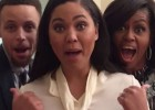 Michelle Obama y los Curry cantan... ¡a los plátanos!