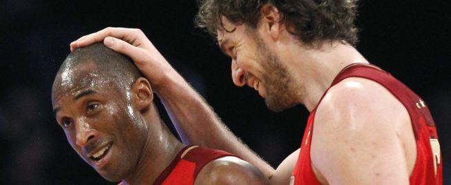 Pau Gasol y la NBA despiden a Kobe Bryant en su último baile