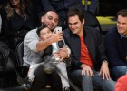 Federer se quedó sin ver a Kobe Bryant en el Staples Center