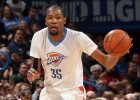 Kevin Durant (20+9+8) llega a tope al duelo contra los Spurs